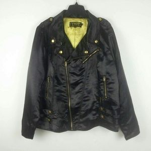 TRIPP NYC Biker Moto Jacket Punk Rockabilly Goth
